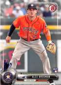 2017 Bowman #75 Alex Bregman RC Rookie Astros NM-MT