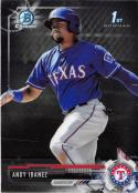 2017 Bowman Chrome Prospects #BCP36 Andy Ibanez NM-MT Rangers
