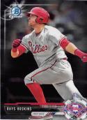 2017 Bowman Chrome Prospects #BCP117 Rhys Hoskins Philadelphia Phillies