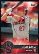 2017 Topps Bunt #2 Mike Trout Los Angeles Angels