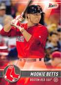 2017 Topps Bunt #35 Mookie Betts Boston Red Sox