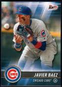 2017 Topps Bunt #120 Javier Baez Chicago Cubs