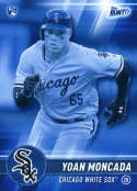 2017 Topps Bunt Blue #5 Yoan Moncada Chicago White Sox