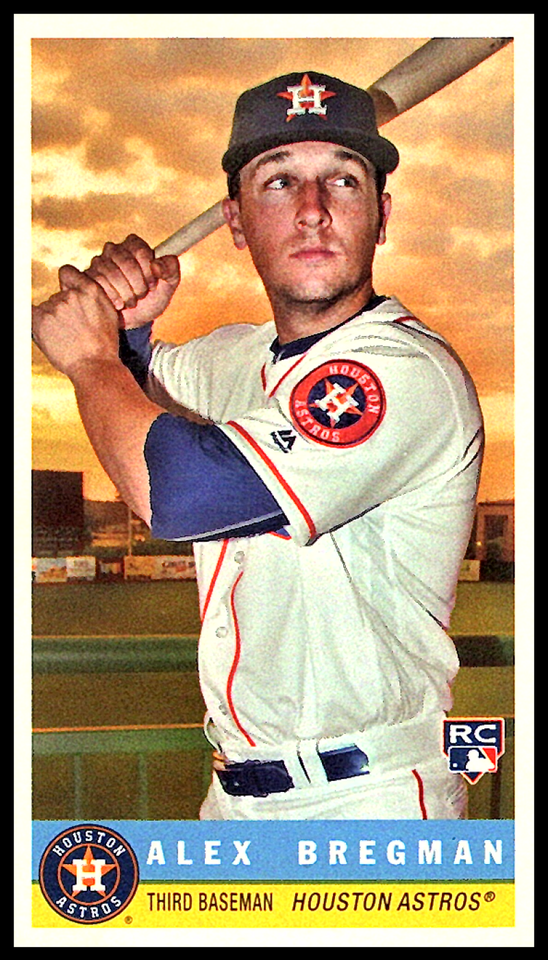 2017 Topps Archives 1959 Bazooka #59B-10 Alex Bregman Houston Astros