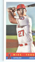 2017 Topps Archives 1959 Bazooka #59B-20 Mike Trout Los Angeles Angels