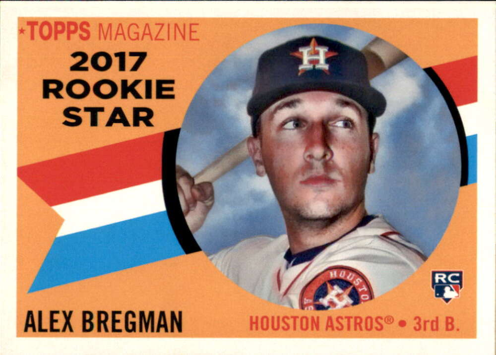 Baseball MLB 2017 Topps Archives 1960 Rookie Star #RS-10 Alex Bregman NM-MT Astros