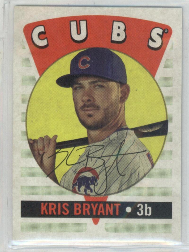 2017 Topps Archives Retro Original #RO-1 Kris Bryant Chicago Cubs