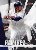 2017 Topps Finest #12 Hanley Ramirez Boston Red Sox