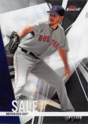 2017 Topps Finest #38 Chris Sale Boston Red Sox
