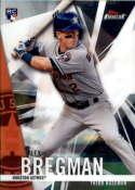 2017 Topps Finest #89 Alex Bregman RC Rookie Houston Astros