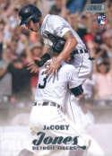 2017 Topps Stadium Club #12 JaCoby Jones RC Rookie Detroit Tigers