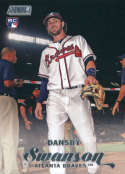2017 Topps Stadium Club #20 Dansby Swanson RC Rookie Atlanta Braves