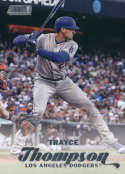 2017 Topps Stadium Club #46 Trayce Thompson Los Angeles Dodgers