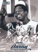 2017 Topps Stadium Club #55 Hank Aaron Atlanta Braves
