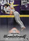 2017 Topps Stadium Club #149 Andrew Benintendi RC Rookie Boston Red Sox