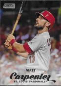 2017 Topps Stadium Club #169 Matt Carpenter St. Louis Cardinals