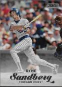 2017 Topps Stadium Club #170 Ryne Sandberg Chicago Cubs