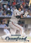 2017 Topps Stadium Club #172 Brandon Crawford San Francisco Giants