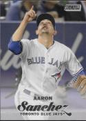 2017 Topps Stadium Club #219 Aaron Sanchez Toronto Blue Jays