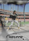 2017 Topps Stadium Club #227 Jose Canseco Oakland Athletics