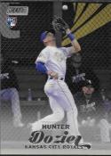 2017 Topps Stadium Club #267 Hunter Dozier RC Rookie Kansas City Royals