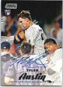 2017 Topps Stadium Club Autographs #SCA-TA Tyler Austin NM-MT Auto Yankees
