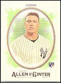 2017 Allen and Ginter #172 Aaron Judge NM-MT RC Rookie Yankees
