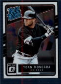 2017 Donruss Optic #31 Yoan Moncada Chicago White Sox Rated Rookie