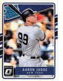 2017 Donruss Optic Holo #38 Aaron Judge New York Yankees Rated Rookie