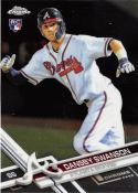 2017 Topps Chrome #8 Dansby Swanson RC Rookie Atlanta Braves