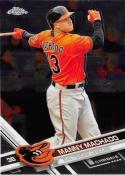 2017 Topps Chrome #40 Manny Machado Baltimore Orioles