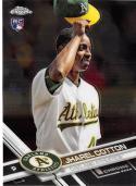 2017 Topps Chrome #80 Jharel Cotton RC Rookie Oakland Athletics