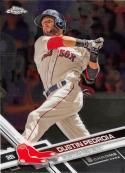 2017 Topps Chrome #87 Dustin Pedroia Boston Red Sox
