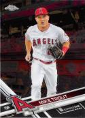 2017 Topps Chrome #200 Mike Trout Los Angeles Angels
