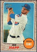 2017 Topps Heritage High Numbers #660 Ian Happ RC Rookie Chicago Cubs