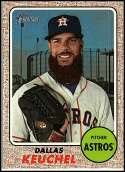 2017 Topps Heritage High Numbers #719 Dallas Keuchel SP Houston Astros