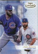 2017 Topps Gold Label Class 1 #6 Jake Arrieta Chicago Cubs