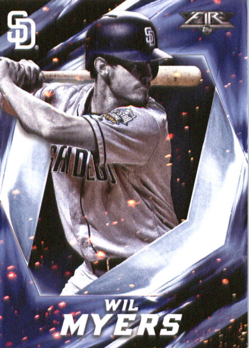 2017 Topps Fire #87 Wil Myers