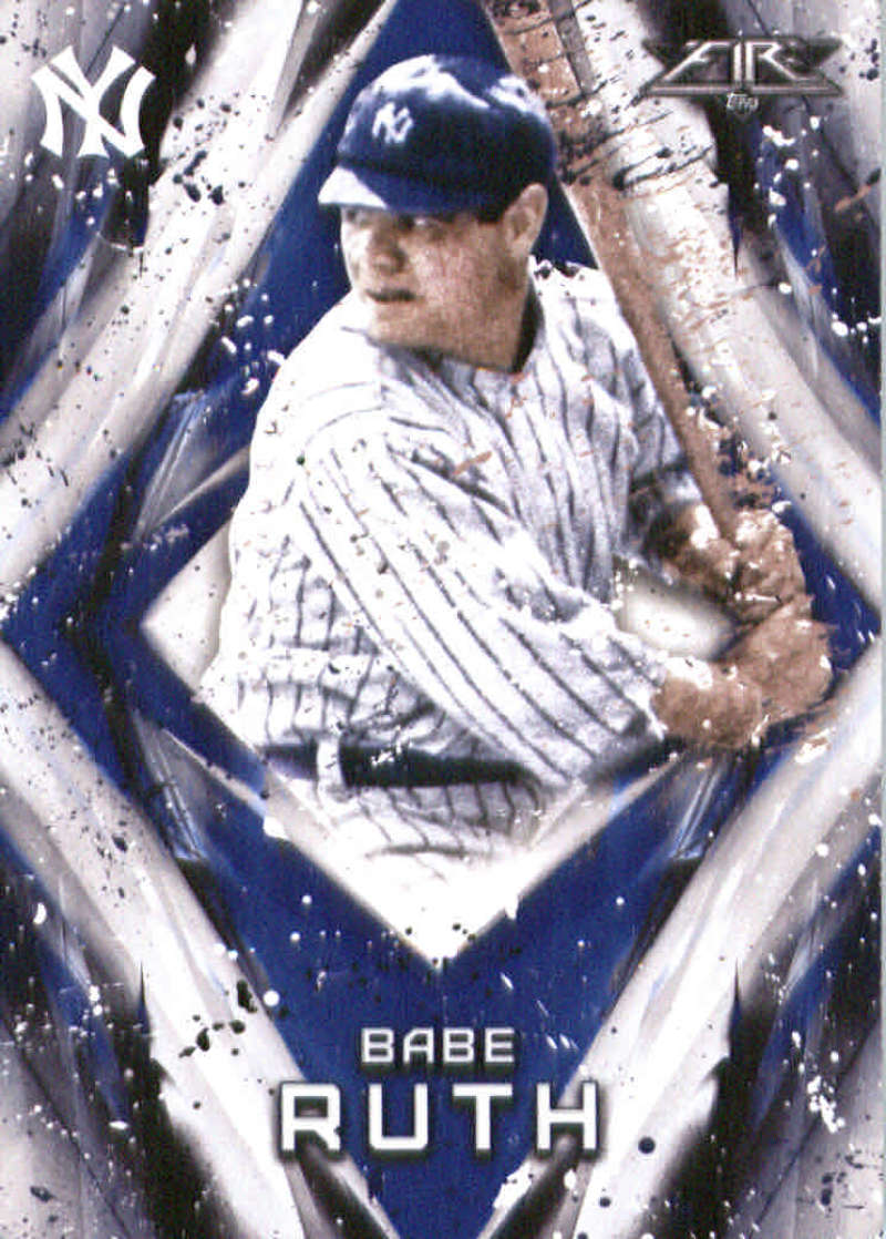 2017 Topps Fire #200 Babe Ruth NM+