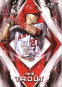 2017 Topps Fire #50 Mike Trout NM+