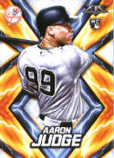 2017 Topps Fire #62 Aaron Judge RC Rookie New York Yankees