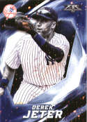 2017 Topps Fire #75 Derek Jeter New York Yankees