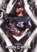 2017 Topps Fire #100 Yoan Moncada RC Rookie Chicago White Sox