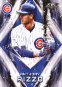 2017 Topps Fire #124 Anthony Rizzo NM-MT Chicago Cubs