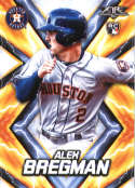 2017 Topps Fire #126 Alex Bregman RC Rookie Houston Astros