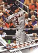 2017 Topps Update #US9 George Springer Houston Astros