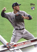 2017 Topps Update #US166 Aaron Judge New York Yankees