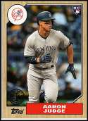 2017 Topps Update 1987 Rookies and Trades #US87-35 Aaron Judge NM-MT