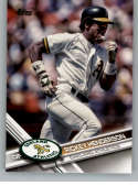 2017 Topps Update Variation Short Prints #US279B Rickey Henderson SP Oakland Athletics