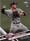 2017 Topps Chrome Update #HMT40 Aaron Judge RC New York Yankees